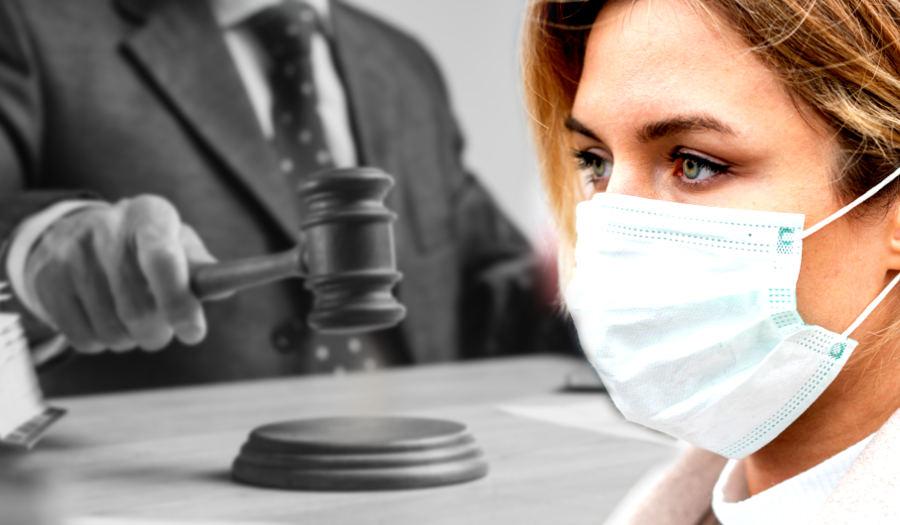 wpływ koronawirusa na pracę sądów